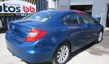 2012 Honda Berline Civic ( ROULE COMME NEUF – PROPRE ) complet