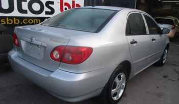 2005 Toyota Corolla ( AUTOMATIQUE – 150 000 KM ) complet
