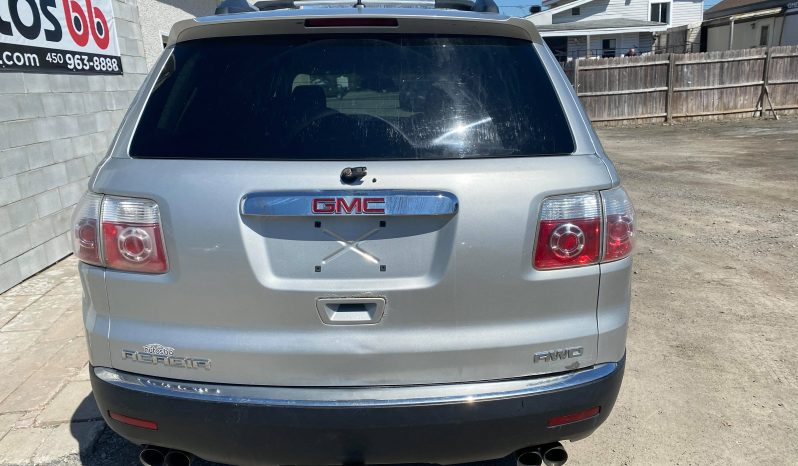 2010 GMC Acadia ( 8 PASSAGERS – AWD 4×4 ) complet