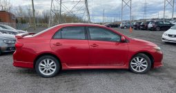 2010 Toyota Corolla S ( CUIR MAGS TOIT – S AUTOMATIQUE )